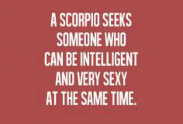Scorpio characteristics