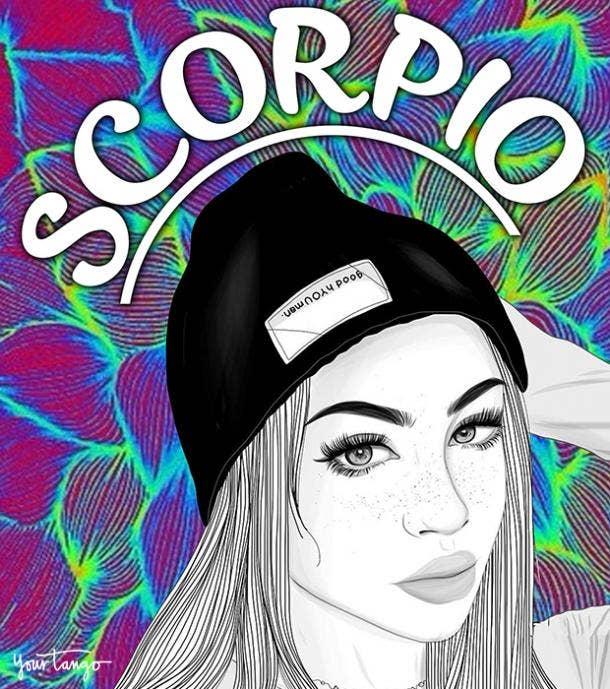Scorpio zodiac sign true friends stick by your side