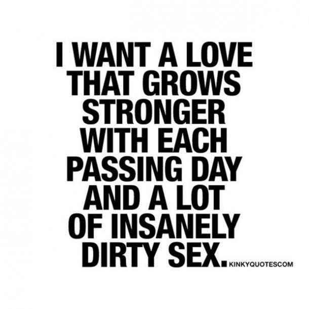 Dirty sexual sayings