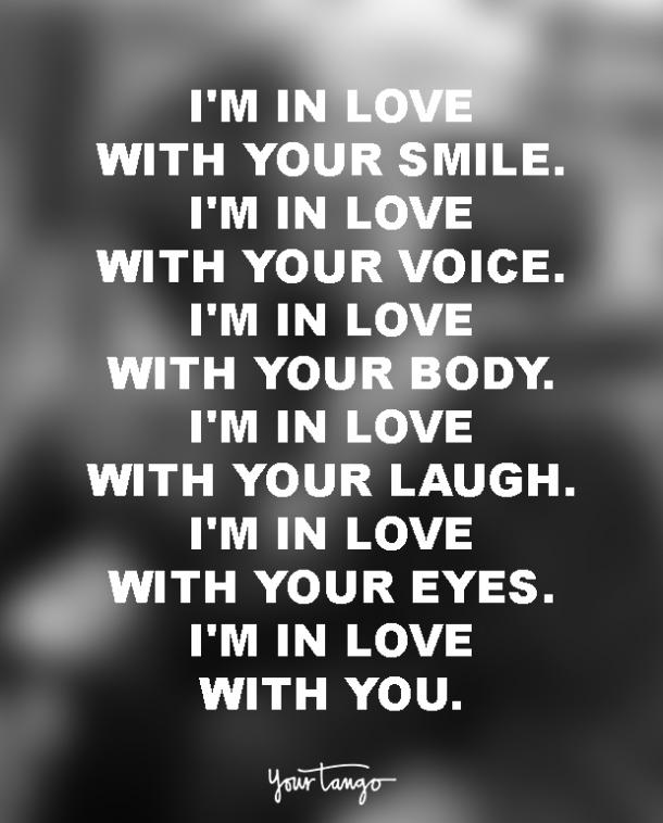 I m in love with you quotes for her
