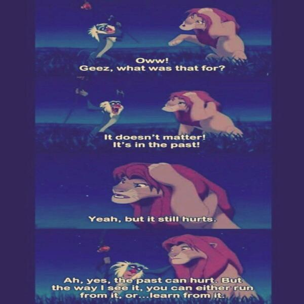 lion king rafiki life lesson