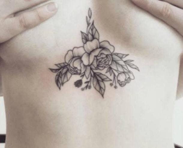 sternum tattoo 1