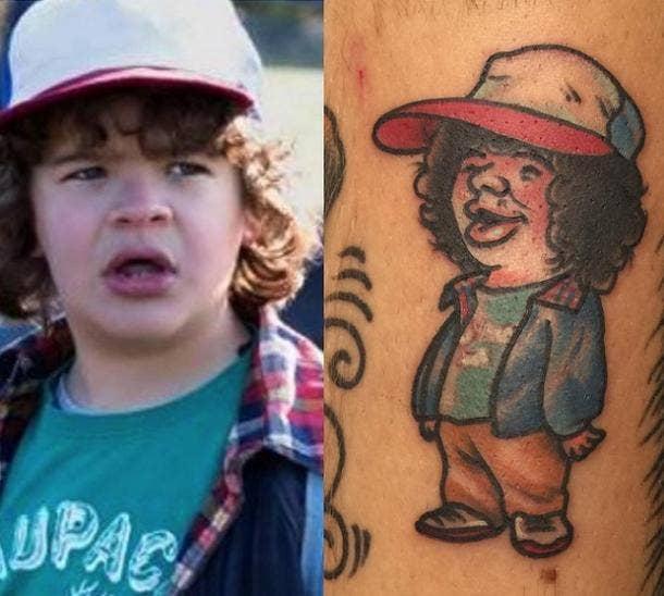Tattoos Stranger Things