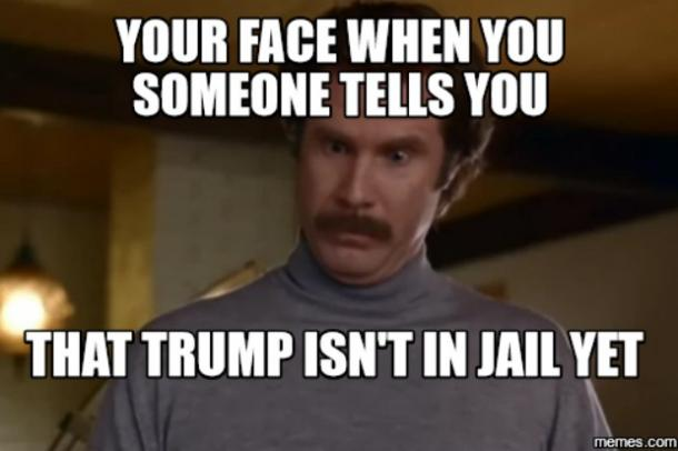 t5?itok=a_lMGfHx 18 best funny donald trump memes about prison, jail, russia and