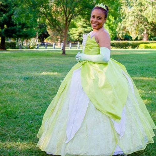 Tiana Princess and the Frog Disney halloween costume