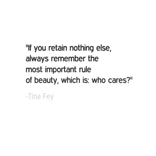 Tina Fey inspirational quotes