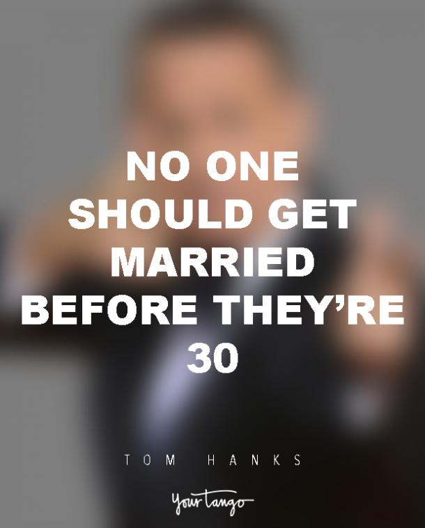 Tom Hanks Quotes On Marriage
