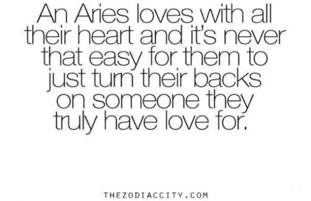 Aries love