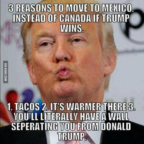 funny Donald Trump meme Mexico