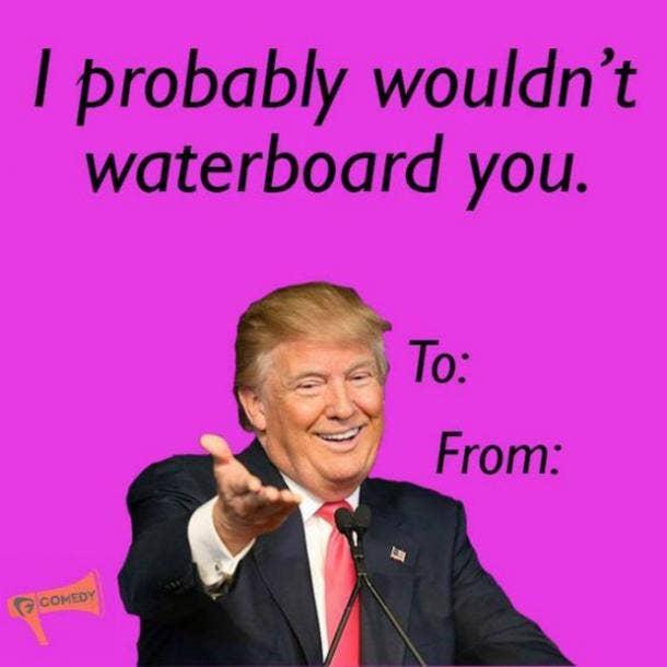 trump valentine memes