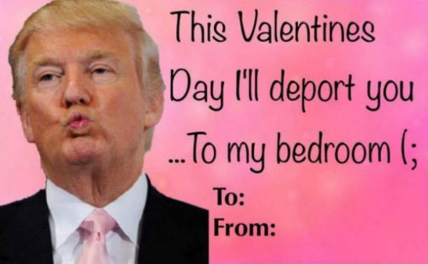 Funny Meme Valentines Day Cards : Donald trump digital valentine s day cards and funny memes