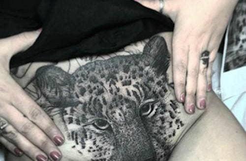 vagina tattoos ideas
