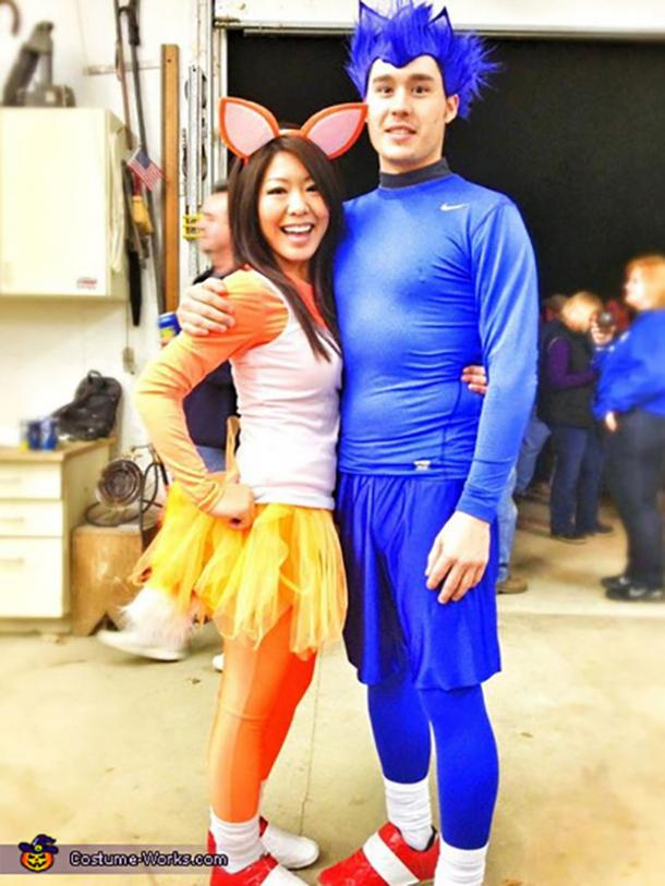 Sonic Tails Video Game Cosplay Halloween Costume Ideas