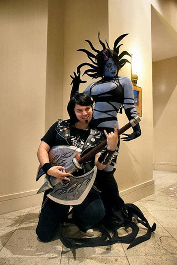 Brutal Legend Video Game Cosplay Halloween Costume Ideas