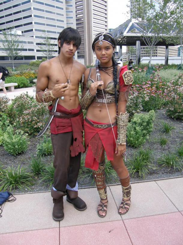 Prince Of Persia Video Game Cosplay Halloween Costume Ideas