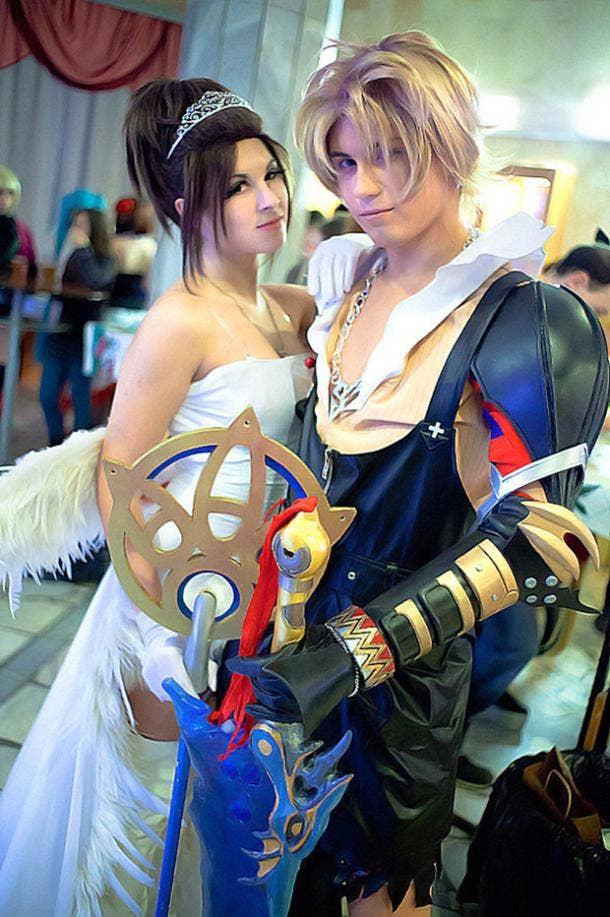 Final Fantasy Video Game Cosplay Halloween Costume Ideas