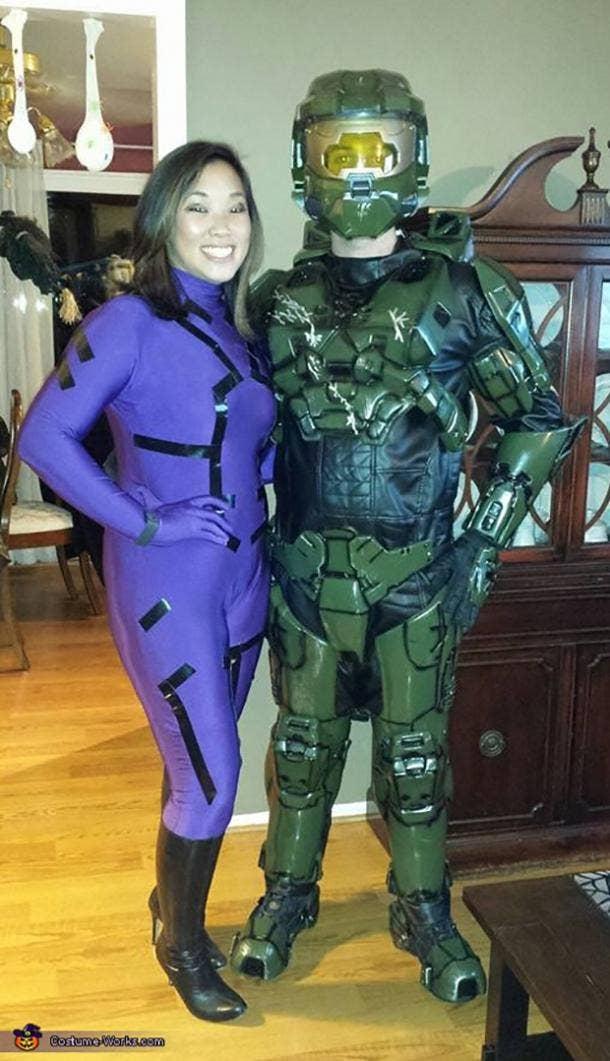 Halo Video Game Cosplay Halloween Costume Ideas