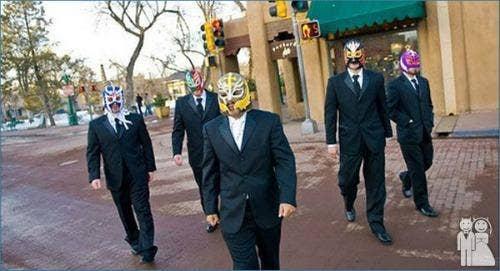 """<a href=""""http://weddingunveils.com/the-masked-groomsmen"""">weddingunveils.com</a>"""