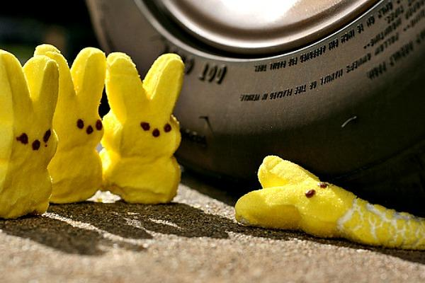 Peeps are indestructible.