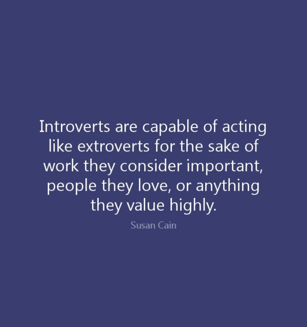 My girlfriend is an extrovert and i m an introvert