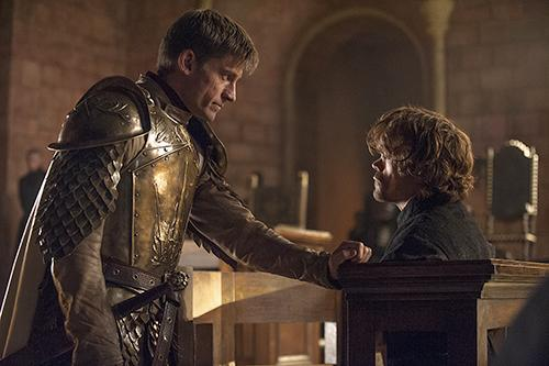 Jaime frees his younger brother.