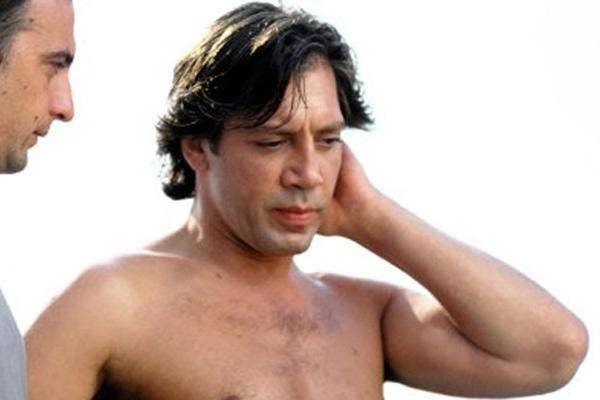 javier bardem shirtless
