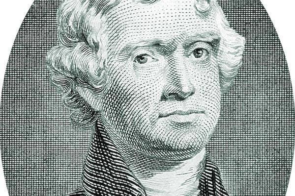Thomas Jefferson from from Wikimedia