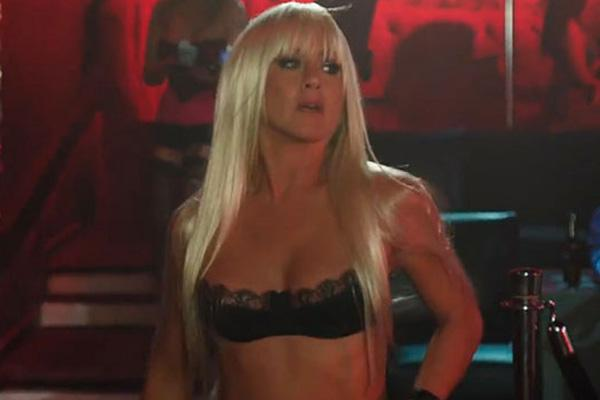 Jennifer Aniston as a stripper in We're The Millers