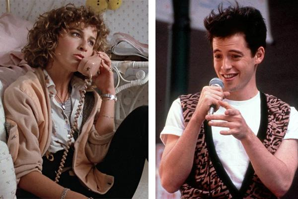 Jennifer Grey and Matthew Broderick Ferris Bueller's Day Off