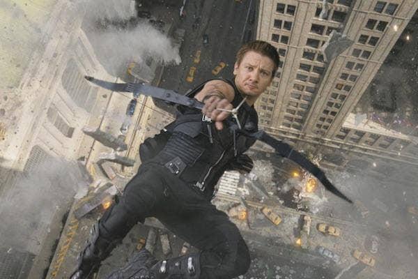 Jeremy Renner from Marvel's The Avengers
