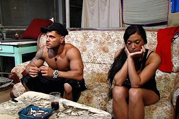 Sammi and Ronnie from The Jersey Shore