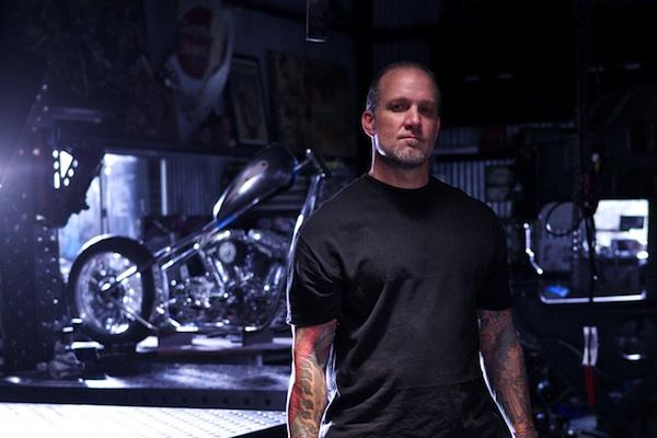 Jesse James from American Chopper