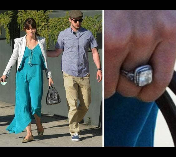 Jessica Biel's Ring