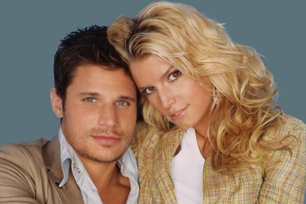 Nick Lachey and Jessica Simpson from Newlyweds nick lachey jessica simpson divorce jessica simpson breakup nick lachey jessica simpson split mtv newlyweds nick and jessica