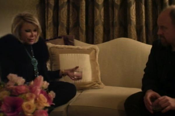Joan Rivers from Louie joan rivers mean joan rivers britney spears