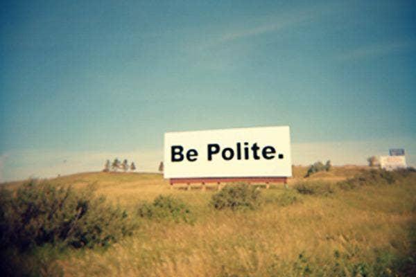 It Evoke Better Manners