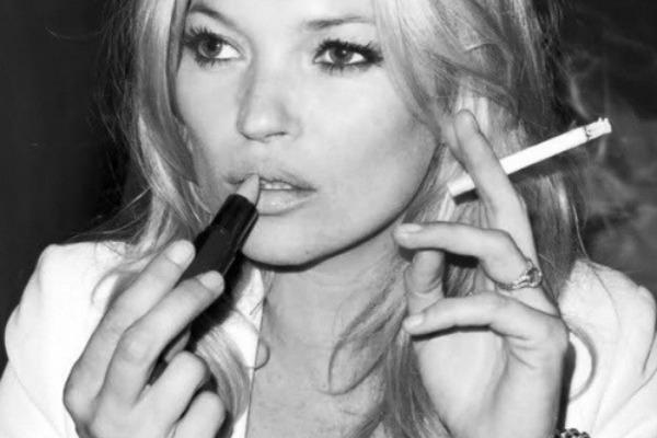 Because Kate Moss lied