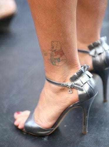 Kate Gosselin Pooh Bear Tattoo