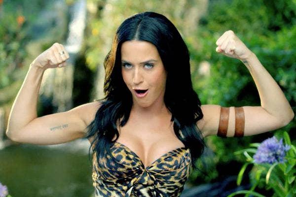 katy perry in roar music video