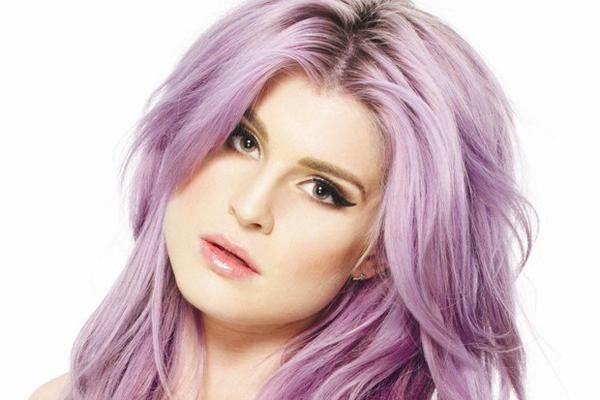 Kelly Osbourne purple hair press photo losing virginity first time sex
