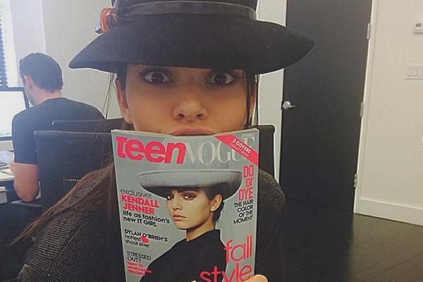Kendall Teen Vogue Cover