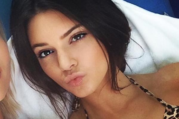 Kendall Jenner In Bed