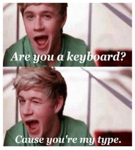 niall horan pick up lines