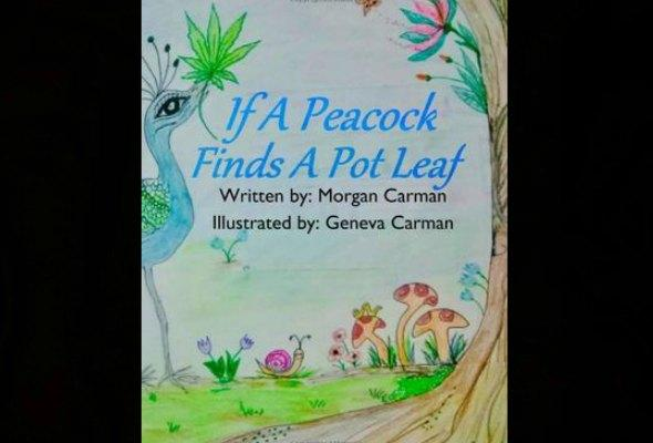 If A Peacock Finds A Pot Leaf book