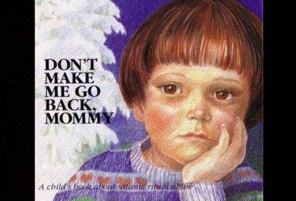 Don't Make Me Go Back, Mommy book