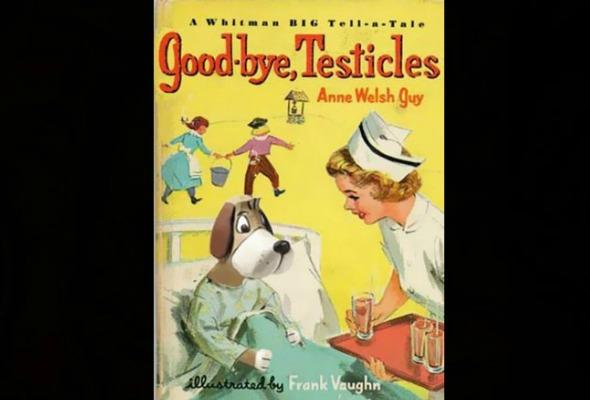 Good-bye, Testicles book