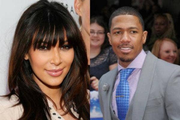Kim Kardashian & Nick Cannon