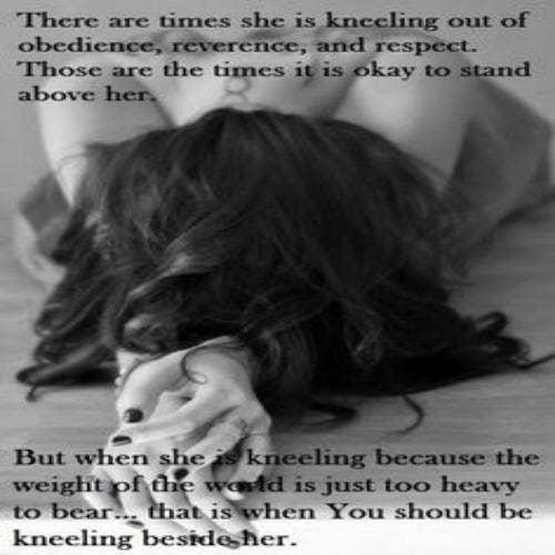 sub kneeling