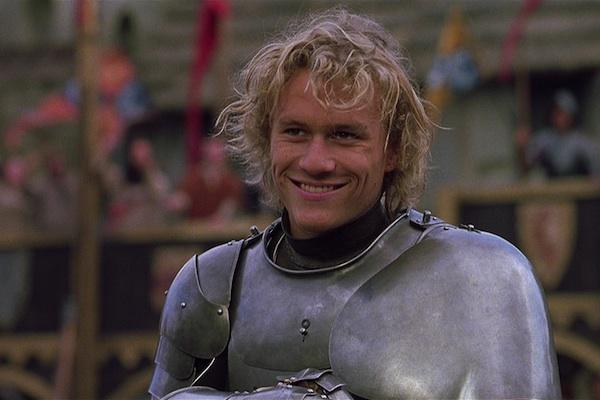 Heath Ledger from A Knight's Tale