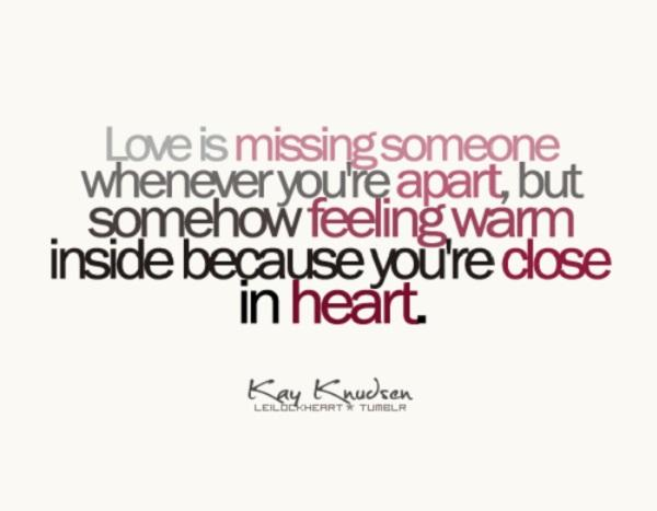 26 Best Long Distance Love Quotes For Couples In LDR ...